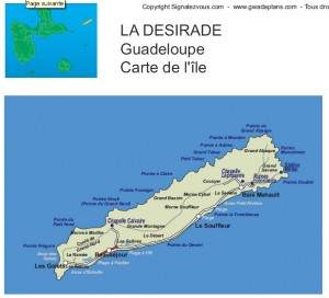 carte désirade